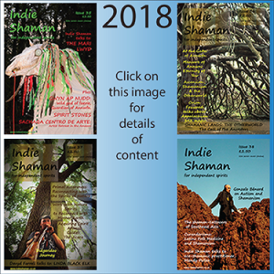 Indie Shaman Magazine PDF Back Issue Bundle 2018