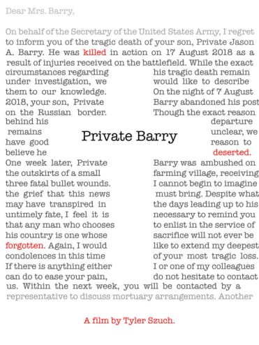 Private Barry