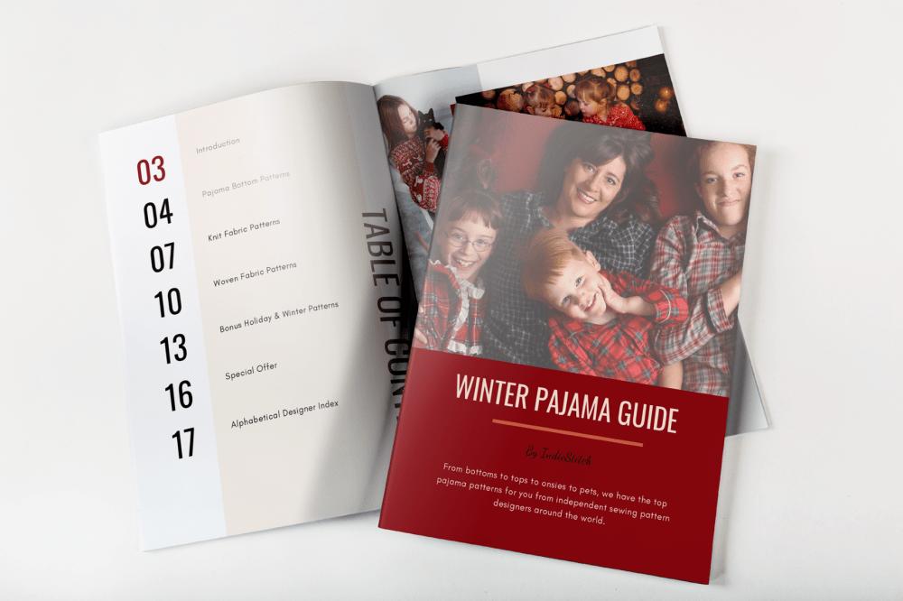 Winter Sewing Pattern Magazine