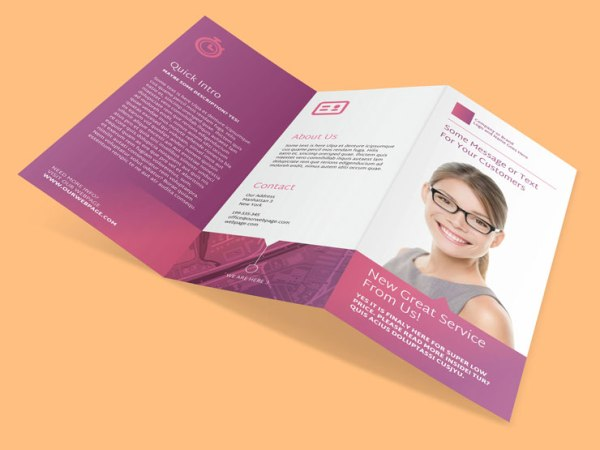 Premium adobe indesign templates indiestock for Adobe indesign tri fold brochure template
