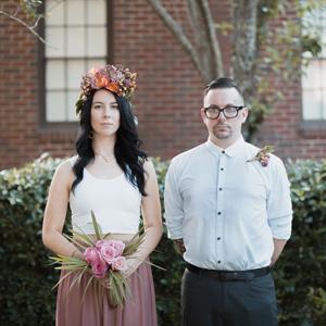 Amy and Chris' fun and casual Savannah wedding