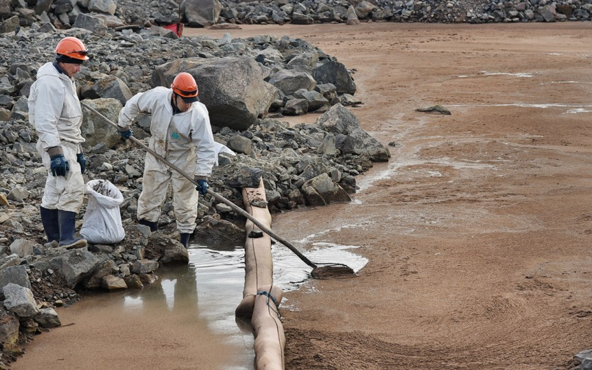 Завершающие работы по ликвидации последствий аварии на ТЭЦ-3 в Норильске