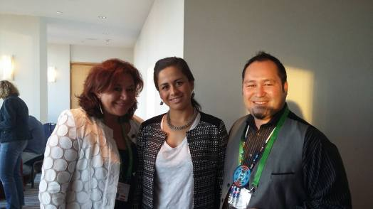 Rachel Wolfgramm, Kimberley Maxwell and Valance Smith