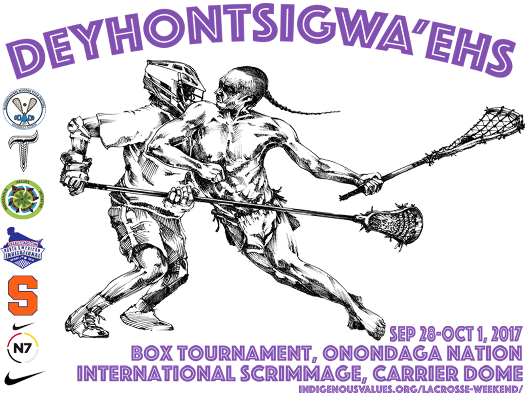 The Schedule for Deyhontsigwa'ehs- The Creator's Game, Lacrosse Weekend