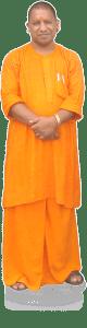 Yogi clad in Saffron-wear