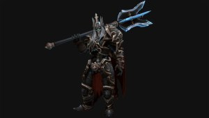 Leoric with Mace