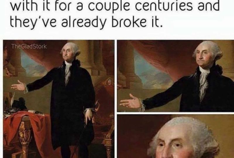 George Washington Weeps