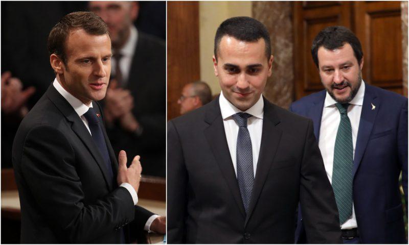 Frankrijk en Italië zijn geen vriendjes meer