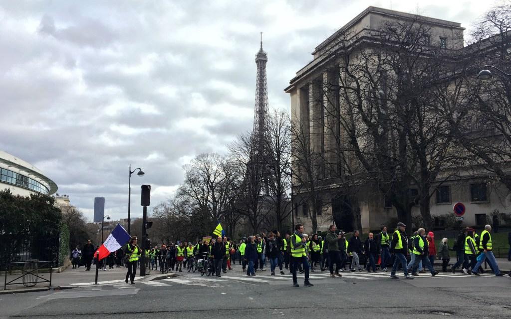 Frankrijk in staking – een rapport uit Parijs