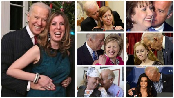 Onweerlegbaar bewijs: 10 video's met griezelige Joe Biden die vrouwen ten onrechte aanraken