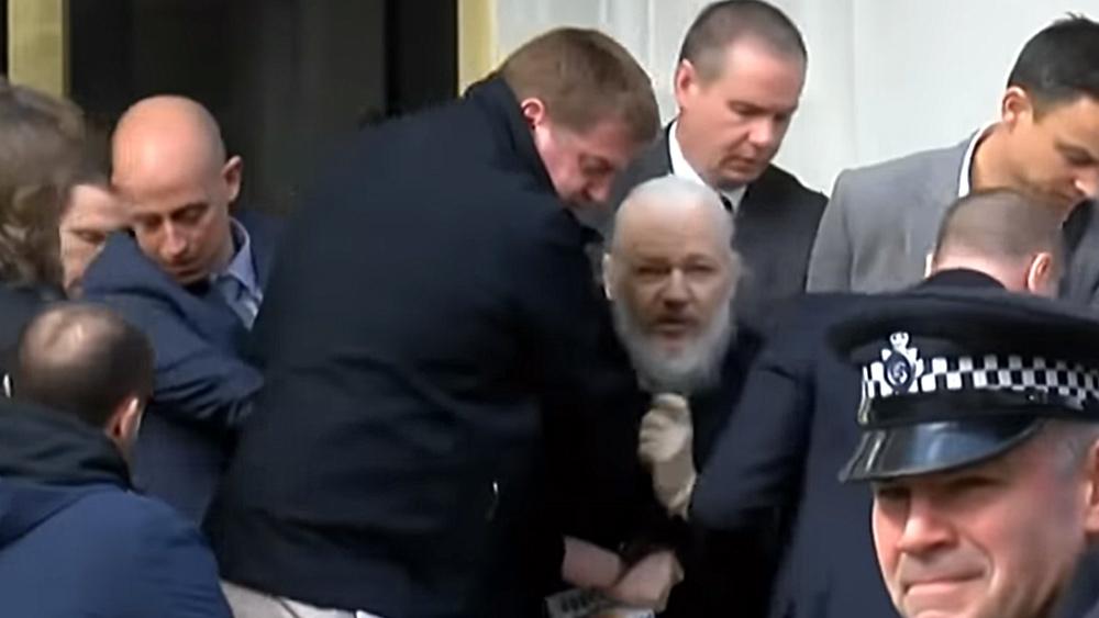 ANALYSE: Deep State achter de arrestatie van Julian Assange