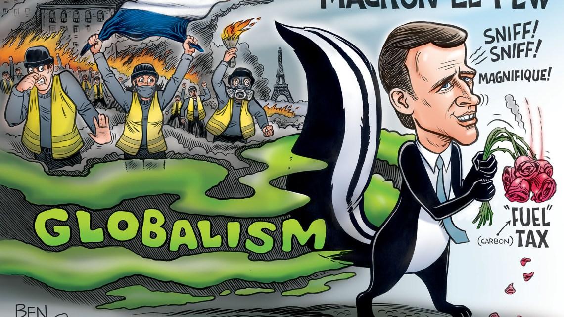 De Britse Minister mist het punt over 'corrupte' eurobanen. Frankrijk neemt meer controle over de EU met Macron aan het roer