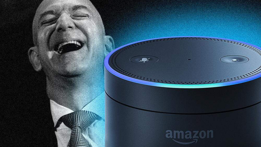 Medewerkers van Amazon luisteren niet alleen naar uw privégesprekken die zijn vastgelegd door Alexa; ze kennen ook je huisadres