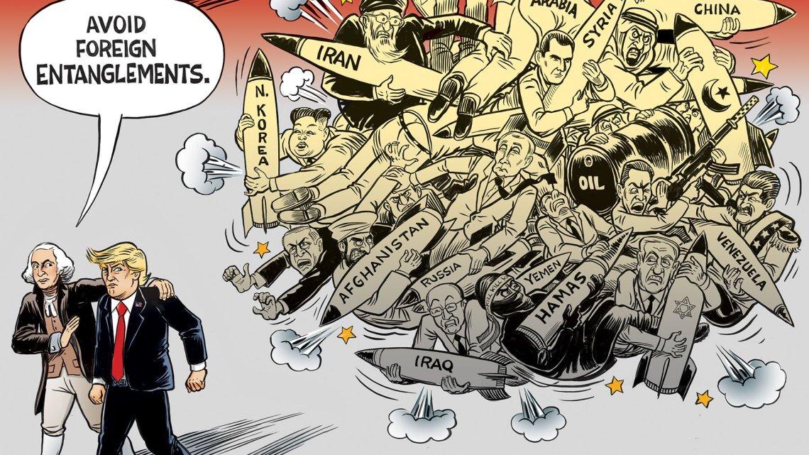 'Humanitaire' bezorgdheid over het vergroten van oorlogen, alleen wapenproducenten beheersen de wereld