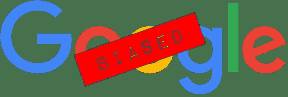 Google-zoekresultaten blijken extreem scheef te staan ten gunste van liberale websites, wat blijk geeft van verkiezingsmoeheid en fraude
