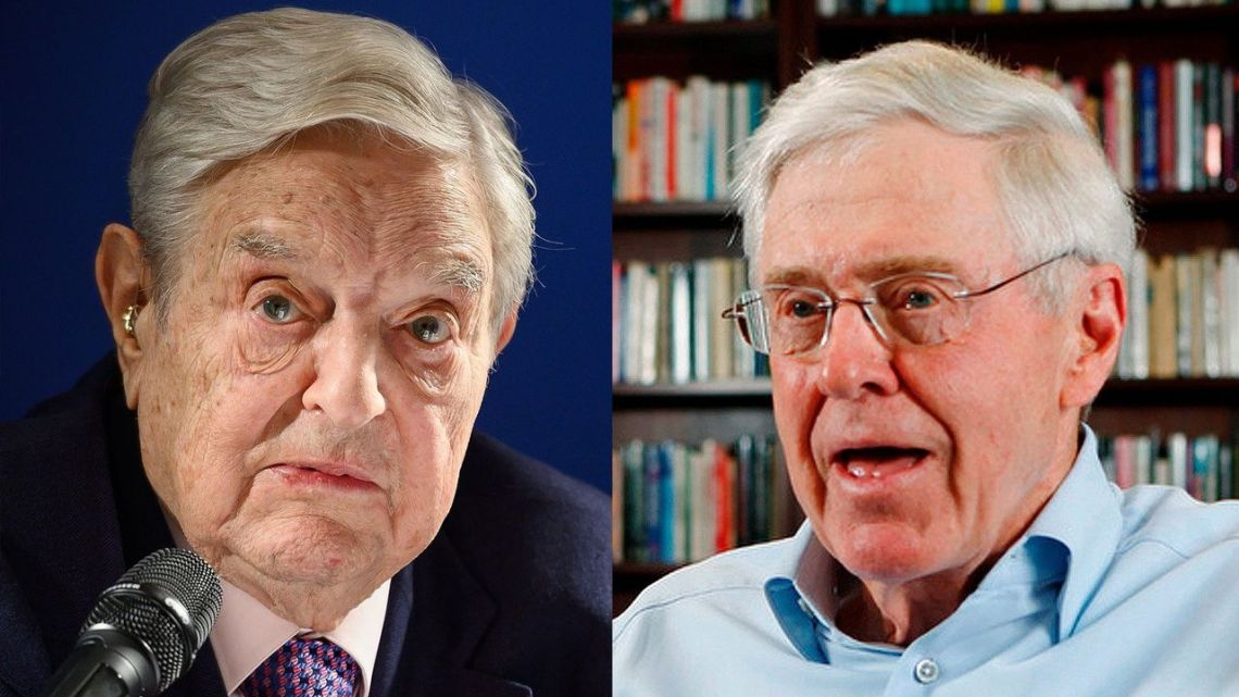 Soros en Koch hebben samen een nieuwe denktank om het Iran-beleid van Obama te herstellen