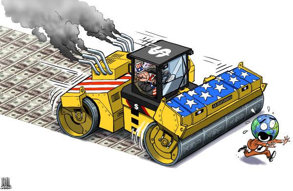 De ineenstorting van Amerika: Een economie gebaseerd op plundering