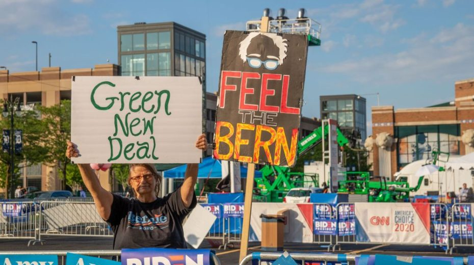 De misantropische bankiers achter de groene New Deal