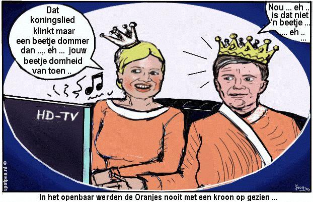 Laat de Koningin Maxima de kerstboodschap doen