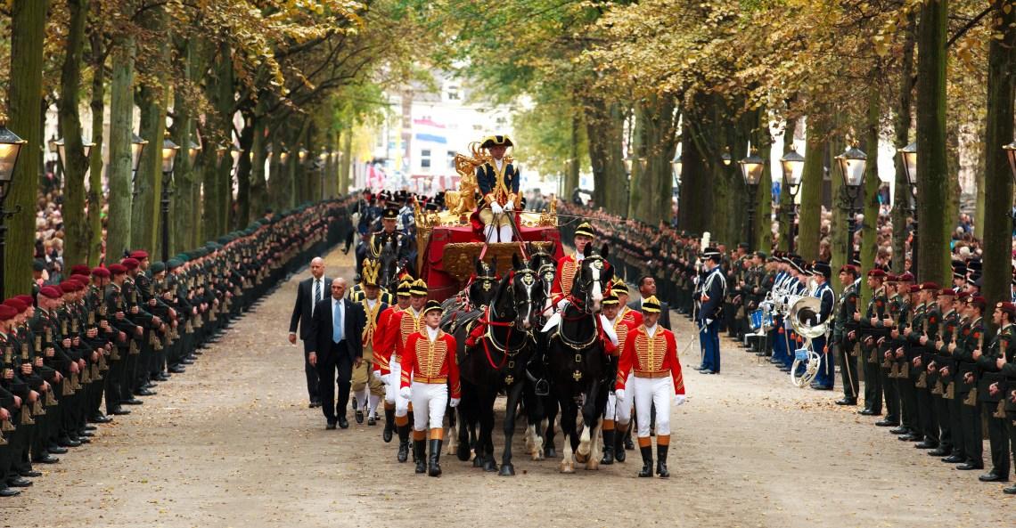 Prinsjes dag: Koning Willem Alexander als reserve-dictator