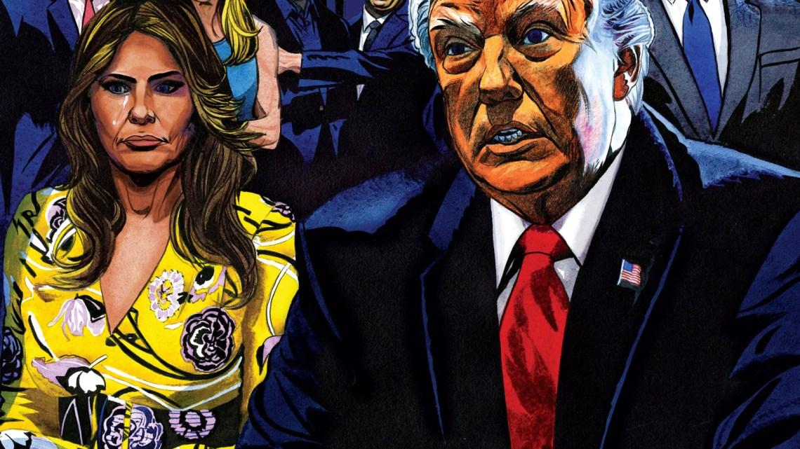 Donald Trump wilde geen president worden
