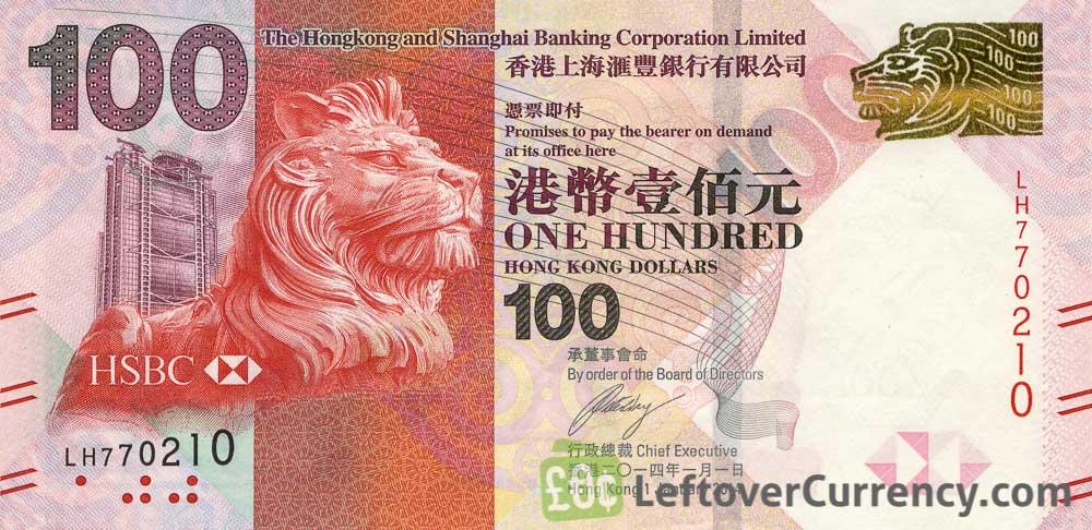 Denk hier eens over na als u Hongkongse dollars bezit