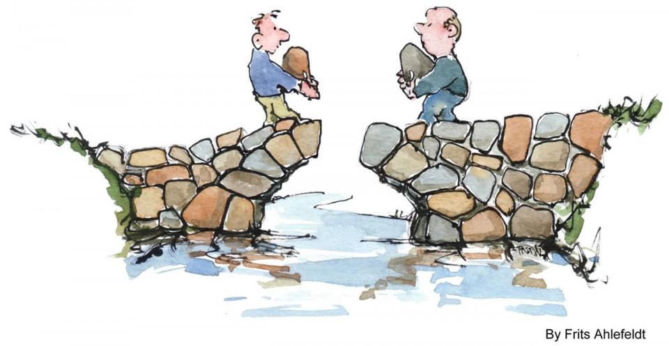 Onder de kop 'De vakidioot en het volk' breekt Beatrice de Graaf in NRC een lans voor 'bruggenbouwers'