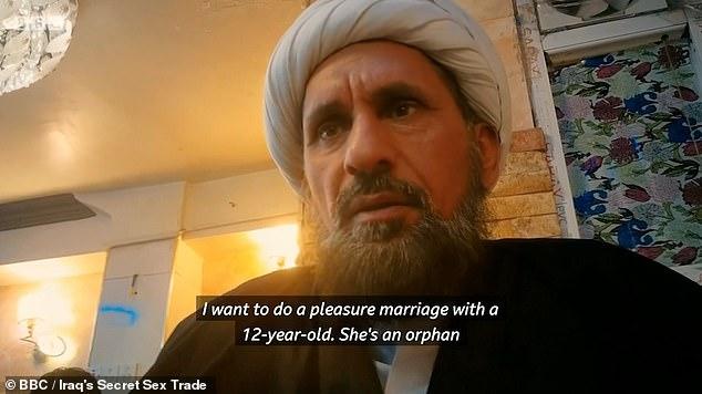 In Irak vormen religieuze 'plezierhuwelijken' een front voor kinderprostitutie (video)