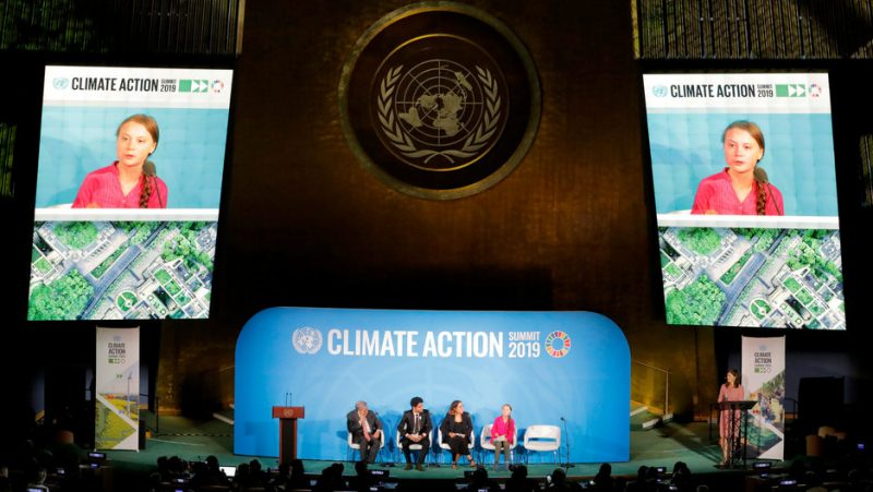 Een door Soros gesponsord VN-klimaatdebat? Een 16-jarige jonge Zweedse VN-ster? Vrede versus klimaat