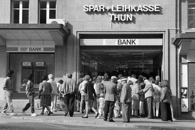 Bankrun niet meer ver weg (?)
