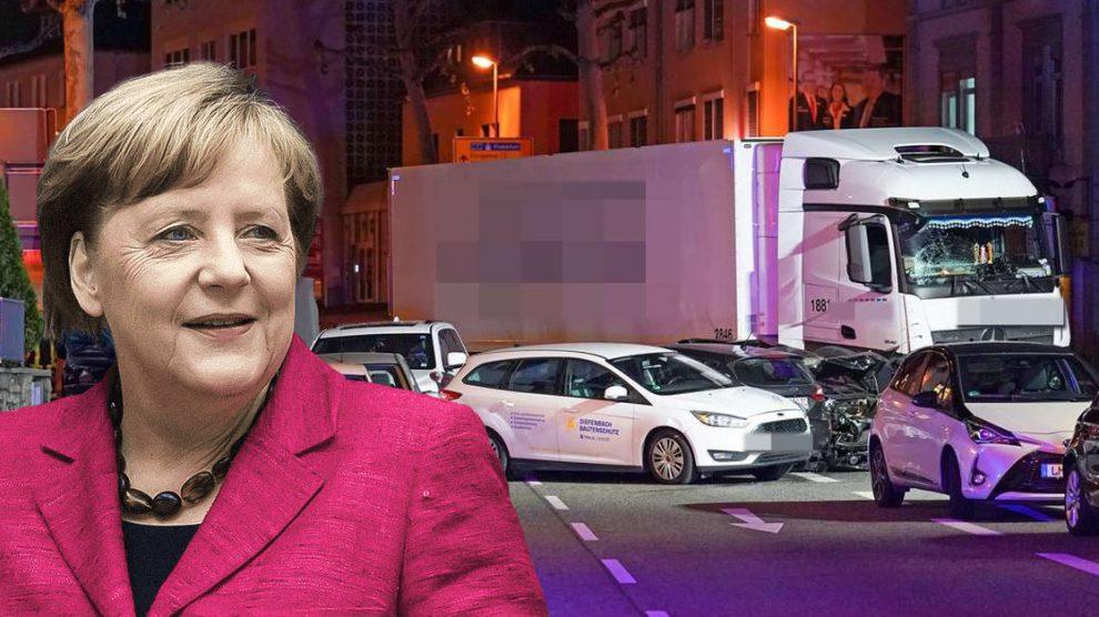 Terroristische aanslag in Limburg – Angela Merkel eiste: vluchtelingen moeten vrachtwagenchauffeur worden
