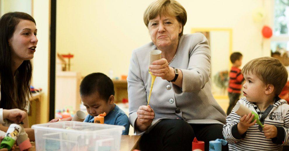 Duitsland steeds totalitair: Merkel wil EU-critici gevangen zetten - INDIGNATIE