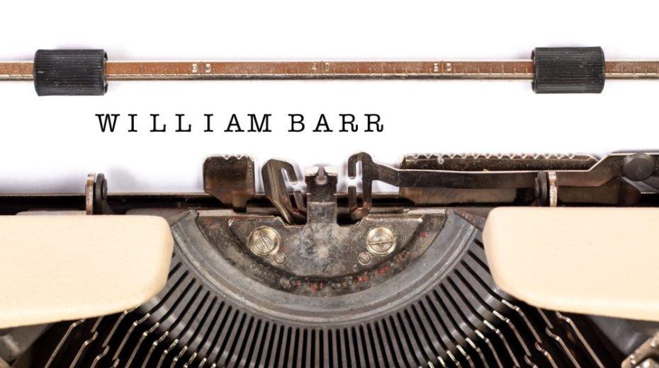 De campagne om William Barr te stoppen