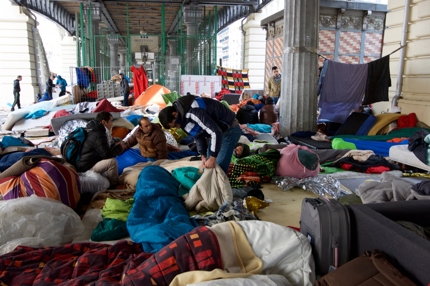 Migrantencrisis in Europa is ontworpen door Timmermans & co