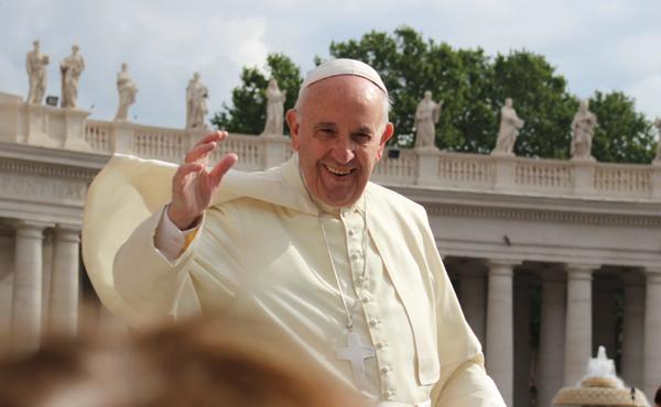 """Paus Franciscus gaat helemaal door: """"Kerstmis is het feest van de vluchtelingen"""""""