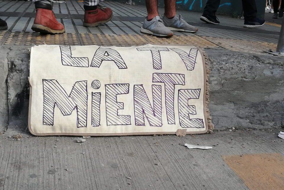 Nationale media Chili worden midden in een crisis gecensureerd