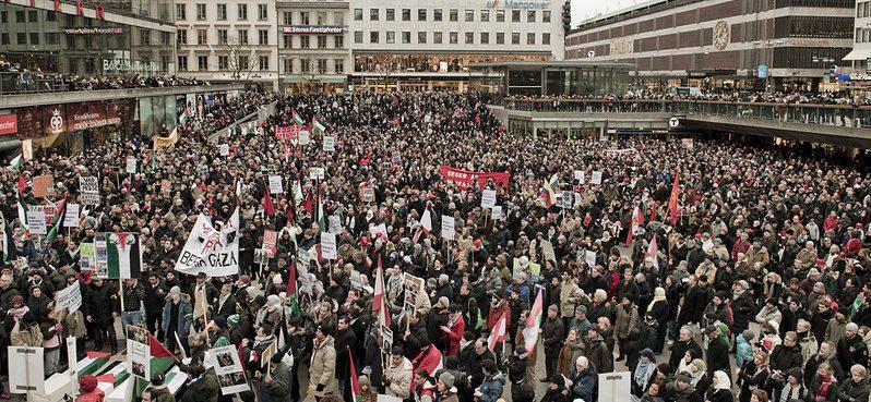 DE STRATEN EN PLEINEN VAN DE VS WACHTEN: Grote demonstraties komen er aan!