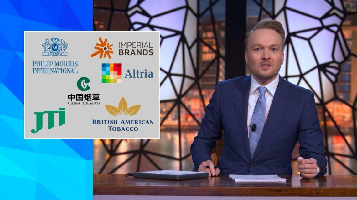 Arjen Lubach voert harde campagne tegen sjoemelsigaretten van tabakslobby