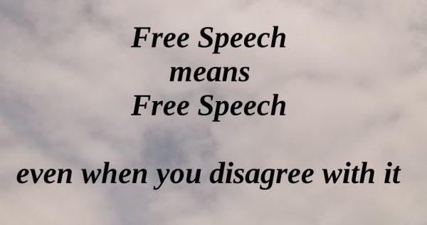 Stop censuur: U hebt het recht om te zeggen …?
