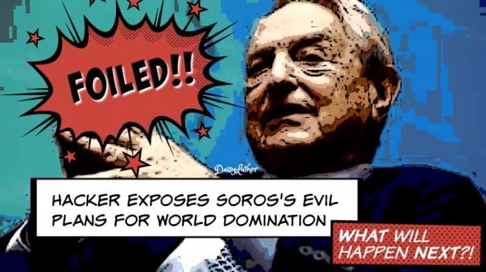 Hacker legt de slechte plannen van George Soros voor wereldwijde overheid en wereldoverheersing bloot