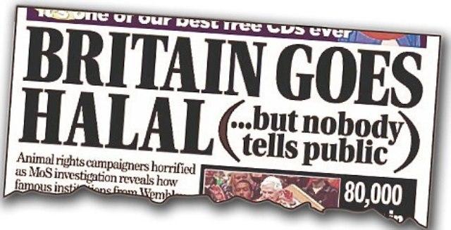 Britse kinderen moeten op school verplicht halal geslacht vlees eten maar wat als….