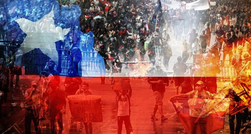 Chileense strijdkrachten geweigerd de bevelen van president Piñera op te volgen tegen het volk