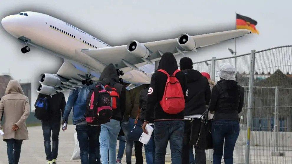 Uncovered: Illegalen kunnen nu comfortabel via Duitsland de EU met het vliegtuig binnenkomen
