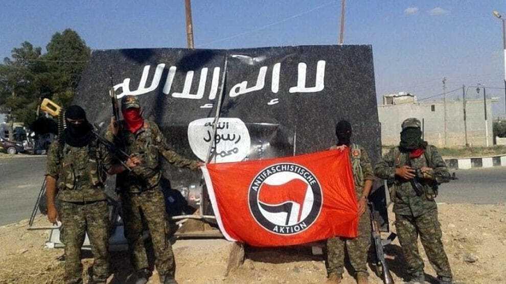 Kurdendemo in Bremen: Antifa voert gewapende strijd in het buitenland – de media zwijgen