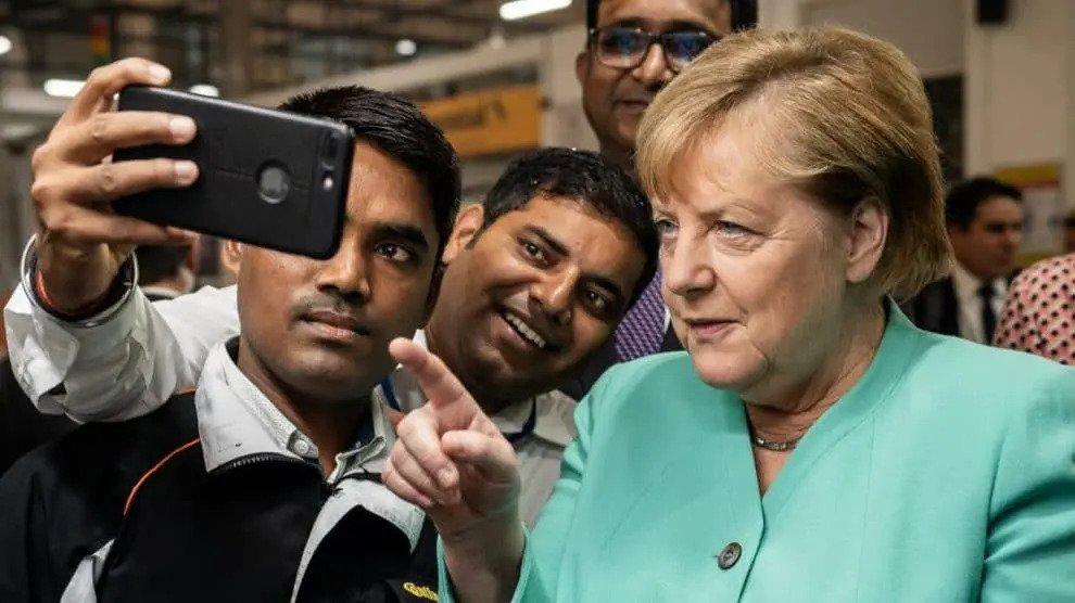 Miljarden voor India: Merkel geeft rijkelijk Duitse rijkdommen weg in het buitenland