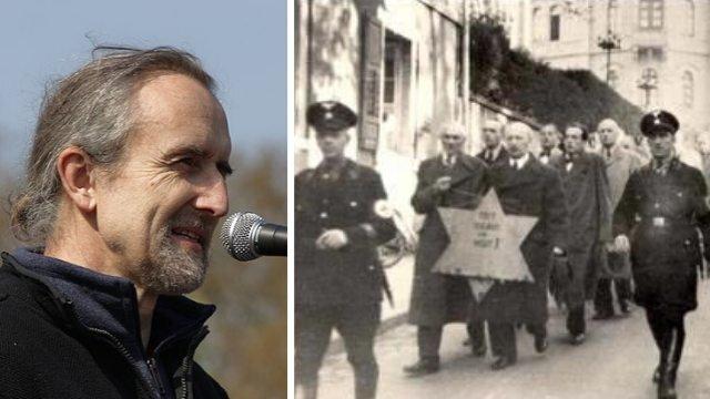 """De oprichter van Extinction Rebellion maakt de Holocaust klein: """"Gewoon een gewone gebeurtenis"""""""