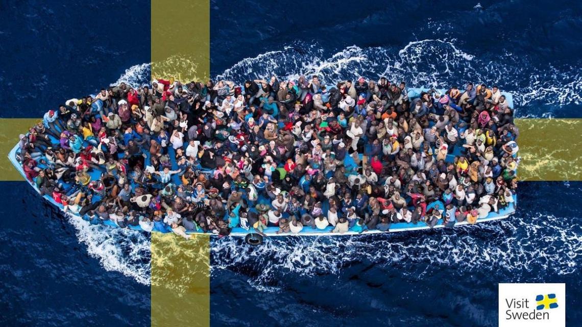 """""""Zweden is vol, veel migranten moeten naar huis"""", zegt leider Zweden Democraten"""
