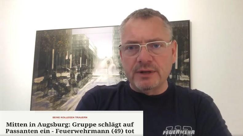 """Brandweerman op Facebook over de misdaad van Augsburg: """"Migranten zullen zich beter moeten aanpassen"""""""
