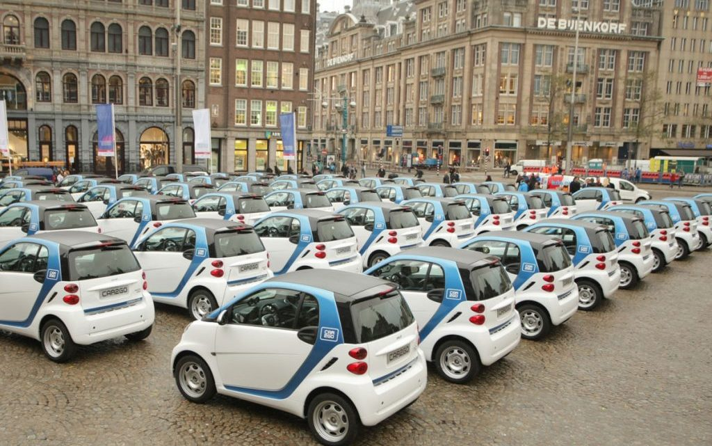 Elektrische auto gewoon vies