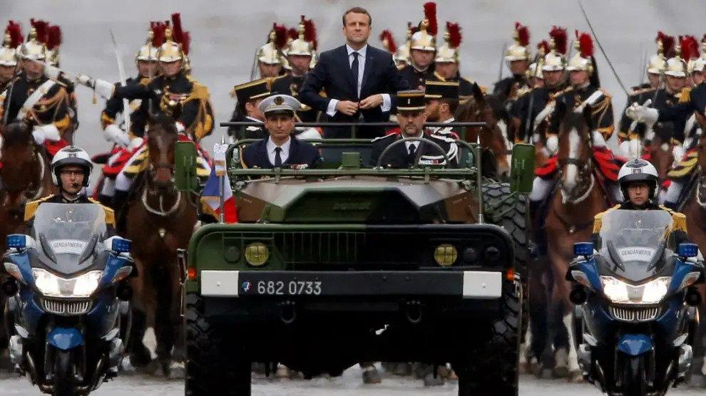 Een nieuwe Napoleon? Macron plant invallen in Europa – eerste bestemming Duitsland